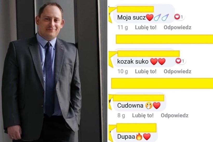 """Burmistrz znów wywołał burzę w Internecie.  Tym razem było o """"sukach"""" i """"dupach"""""""