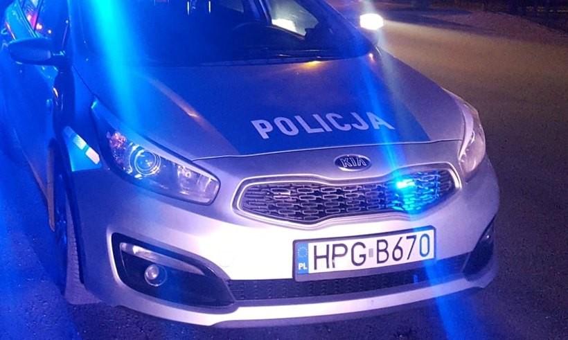Policja zatrzymała kierowcę/Ilustracja