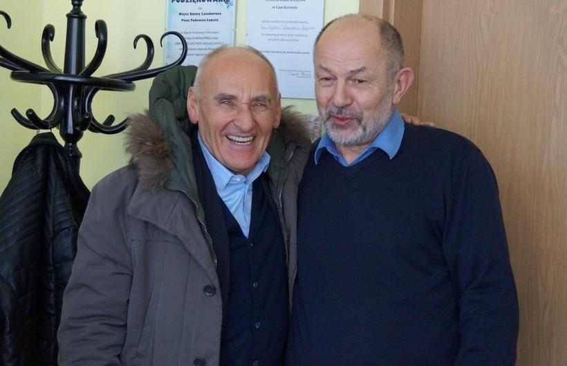 Czesław Lang i Tadeusz Łopata