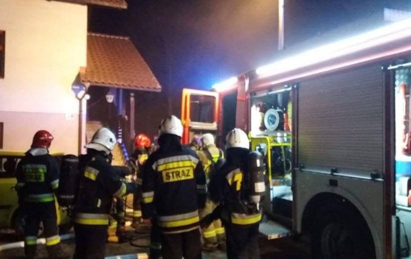 Pożar w Sułkowicach