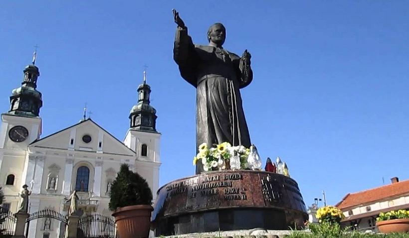 Pomnik Jana Pawła II w Kalwarii Zebrzydowskiej