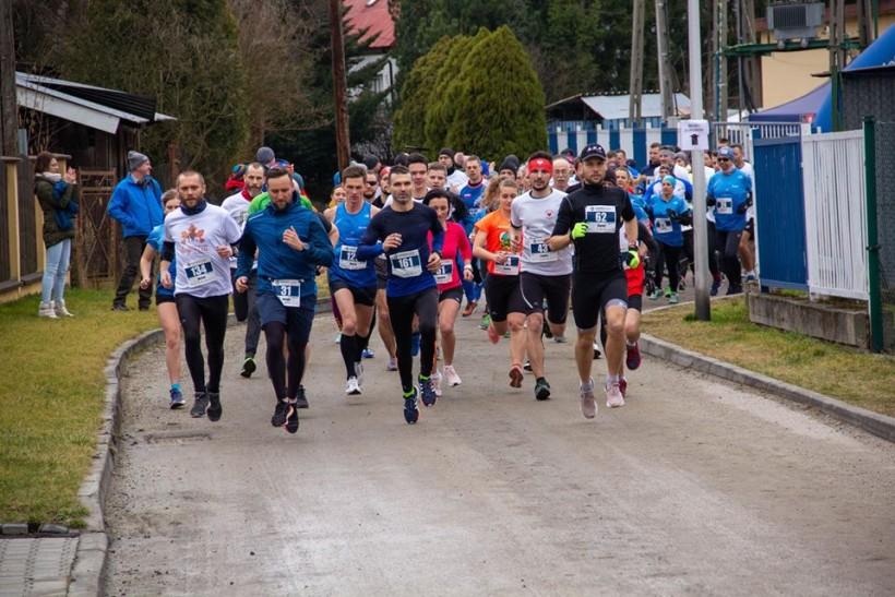 Bieg Tropem Wilczym po raz pierwszy w Wadowicach. Pobiegło 148 osób