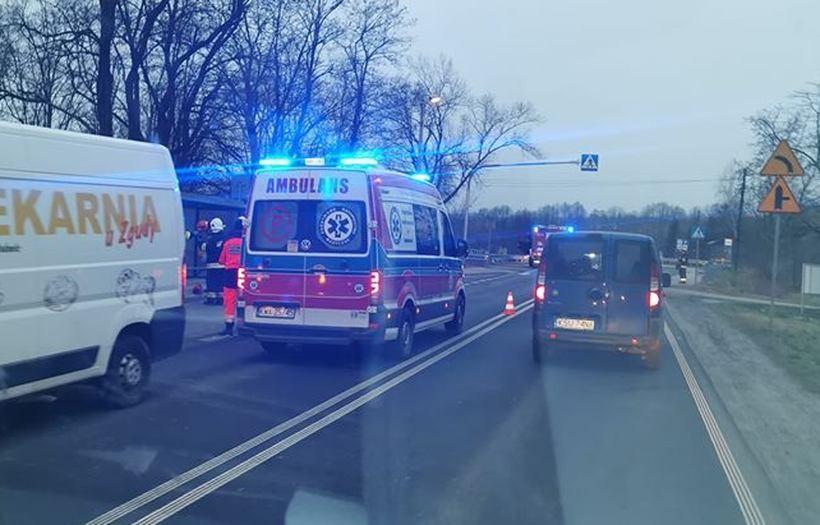 Wypadek w Jaroszowicach