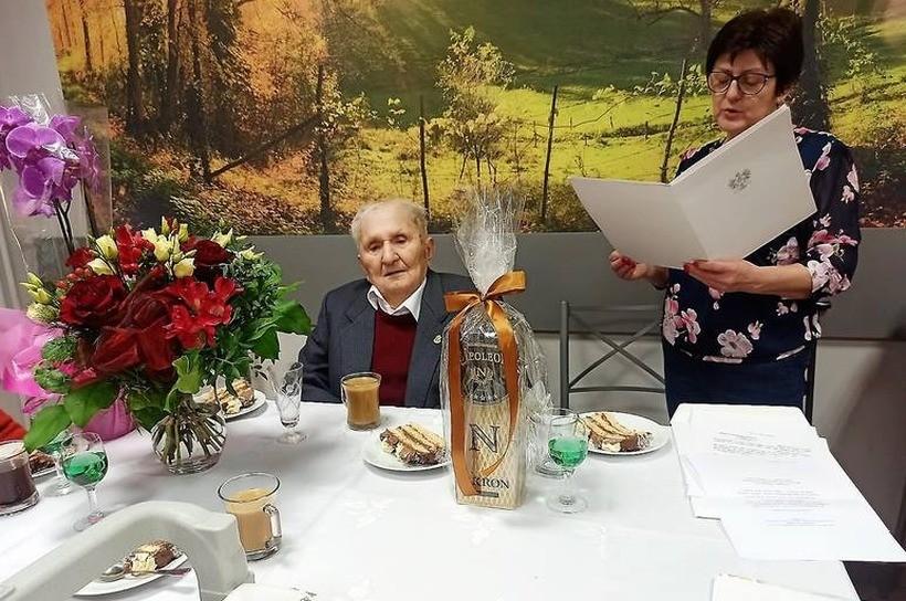 Eugeniusz Mróz świętował 14 marca setne urodziny
