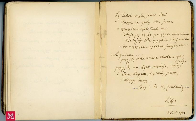"""Muzeum w Wadowicach przypomina najstarszy rękopis Karola Wojtyły. """"Przyjdą takie czarne chwile"""""""