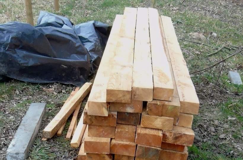 Połasił się na kilka belek drewna. Teraz grozi mu nawet 5 lat więzienia