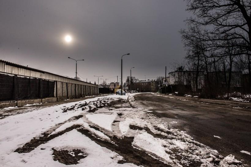 Ulica Fabryczna w Wadowicach
