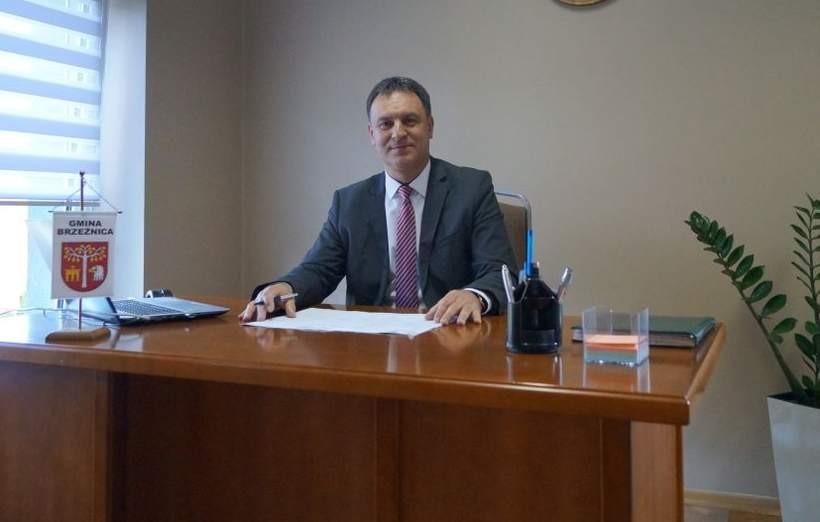 Bogusław Antos, wójt gminy Brzeźnica