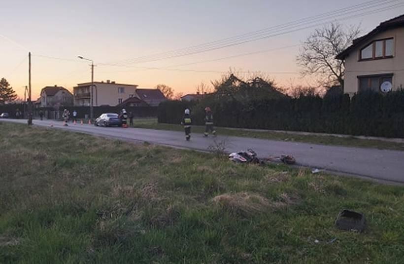 Wypadek w Roczynach