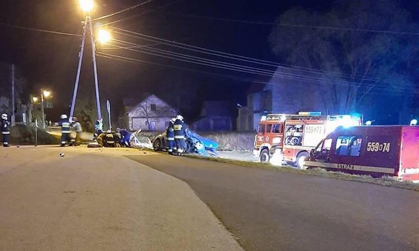 Groźny wypadek w Witanowicach. Jeden z uczestników uciekł z miejsca... pieszo
