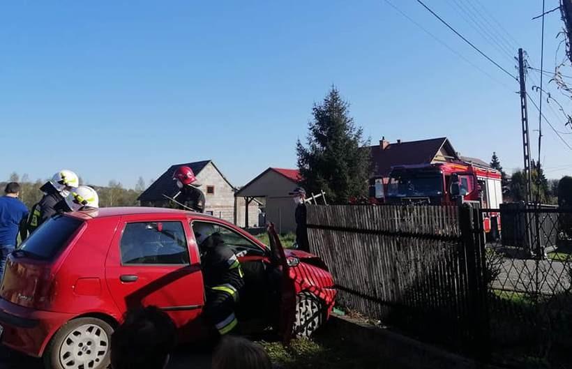 Do wypadku doszło na ulicy Kolejowej