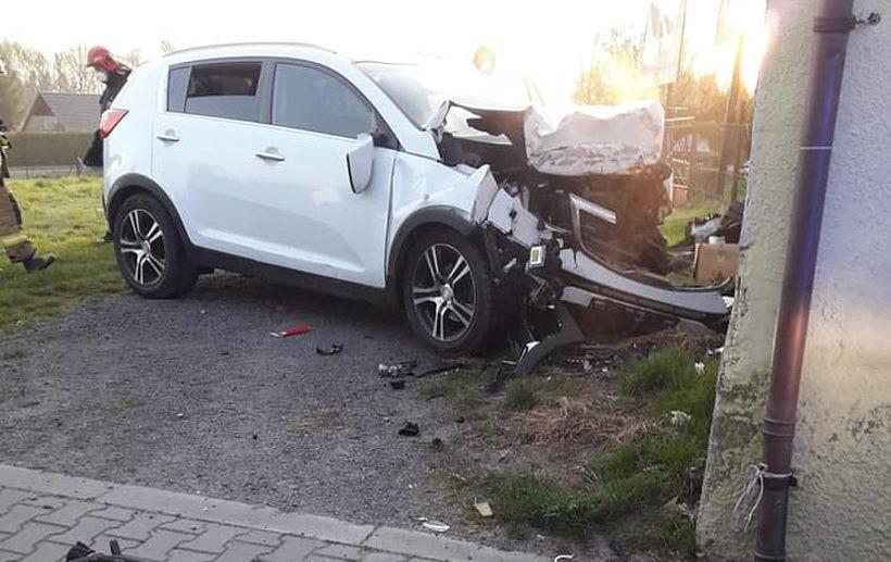 Kierowca z powiatu suskiego zasnął za kierownicą
