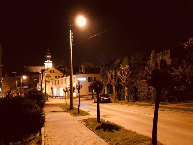 Wadowice wyłączą nocą światło uliczne. Chcą zaoszczędzić na maseczki