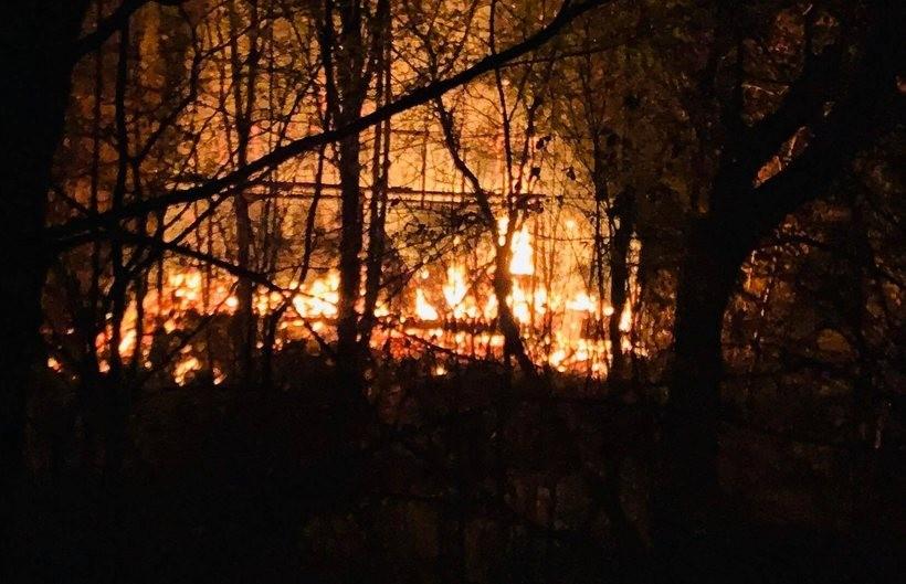 Pożar w Skawinkach