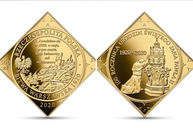 Złota moneta NBP