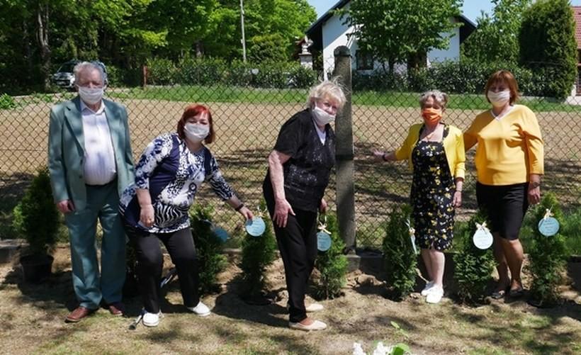 Posadzili sto drzewek na stulecie urodzin Karola Wojtyły