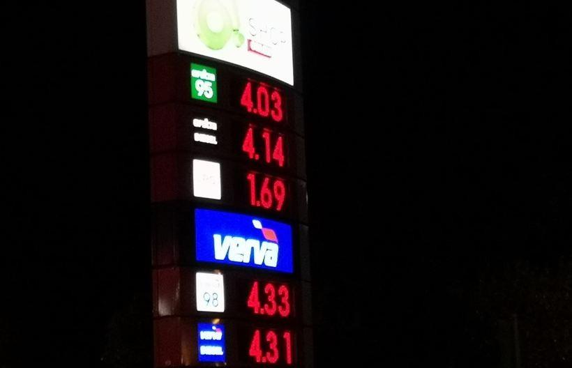 Cena paliwa w Wadowicach z niedzieli (24.05)