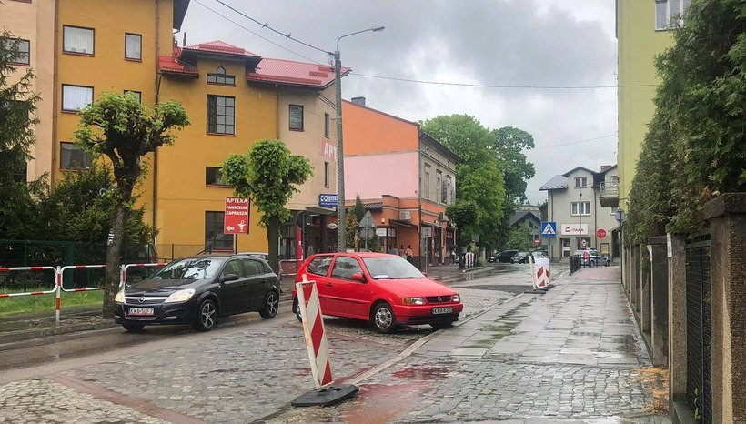 Ulica Sienkiewicza, Wadowice