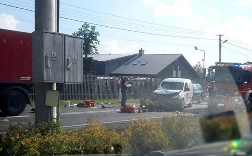 Wypadek na DK44