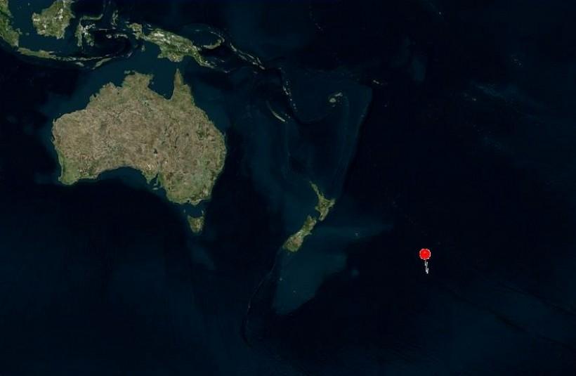 Antypody Wadowic leżą gdzieś na południowym Pacyfiku