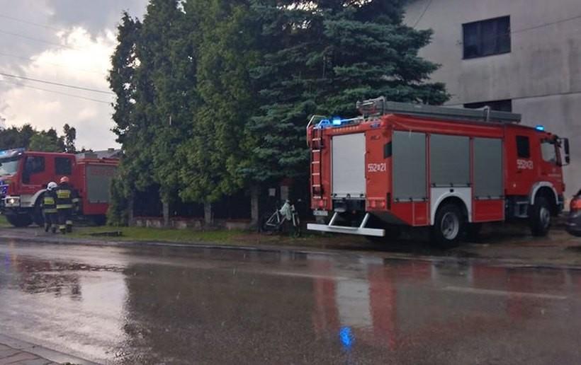 Strażacy interweniowali w Roczynach