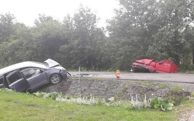 Wypadek w Chrząstowicach