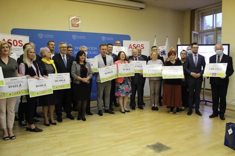 W Krakowie w rozdano dotacje dla gmin