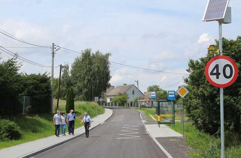 Droga Leńcze - Przytkowice jak nowa. Kalwaria zapowiada kolejne remonty