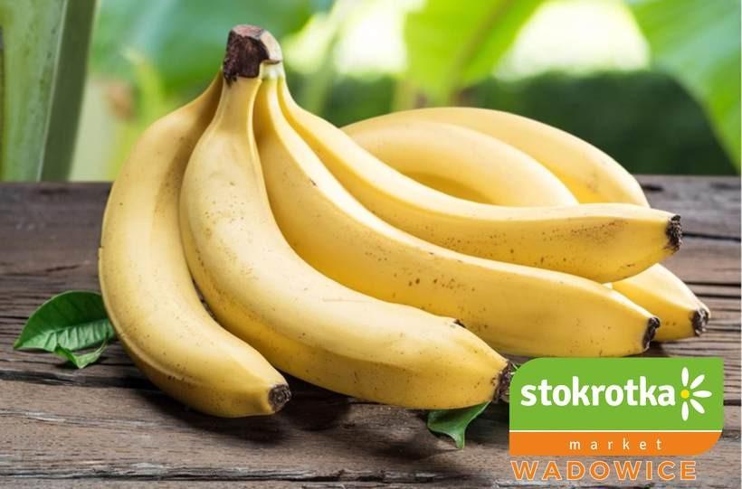 W markecie Stokrotka w Wadowicach banany tanie jak barszcz!