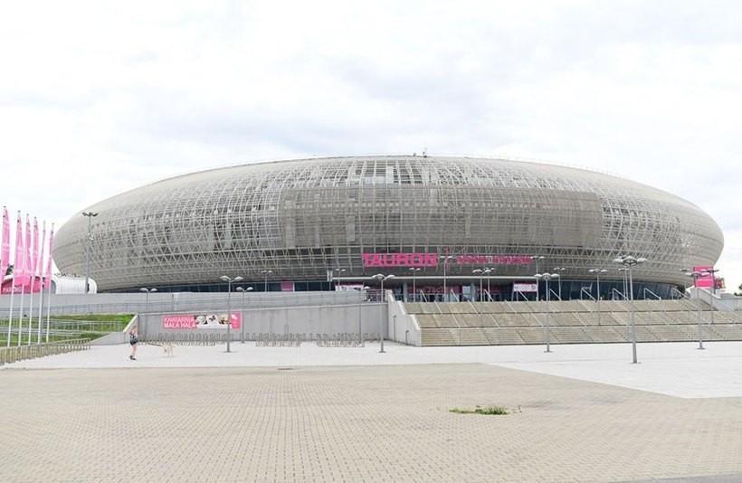 Jednym z obiektów sportowych będzie Tauron Arena w Krakowie