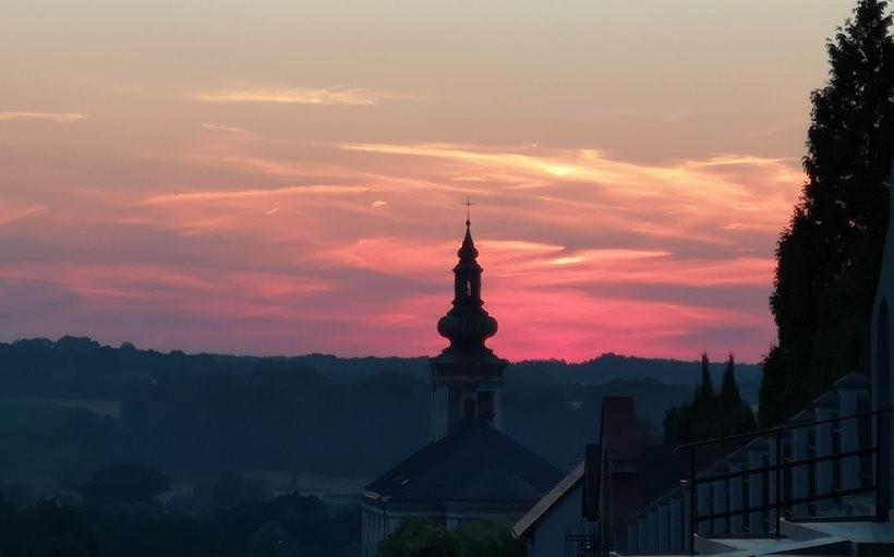 Zachód słońca nad Wieprzem, sobota (1.08)