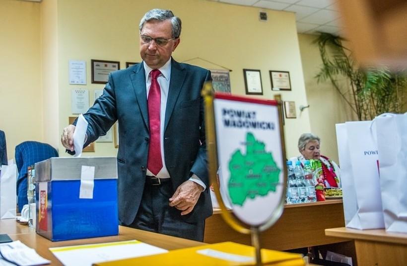 Eugeniusz Kurdas, starosta wadowicki