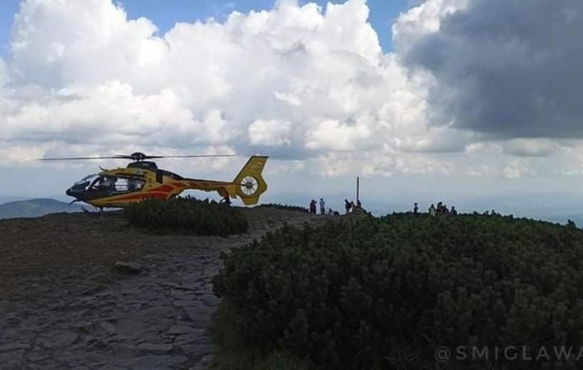 Akcja ratunkowa na Babiej Górze