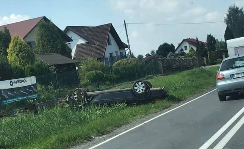 Wypadek w Spytkowicach