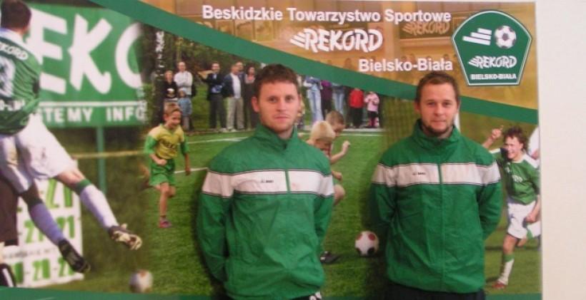 Bracia Łukasz oraz Dawid Rupa zamienili Beskid Andrychów na Rekord Bielsko-Biała