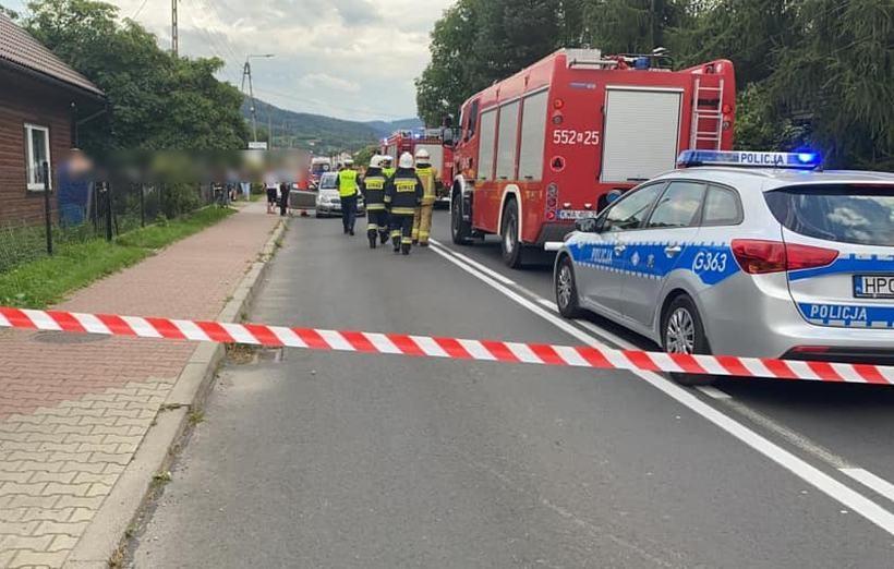 Wypadek w Sułkowicach