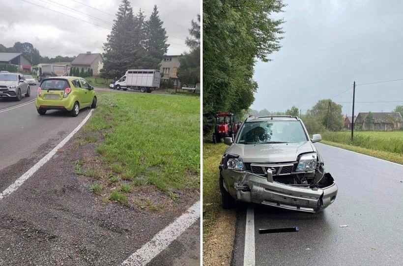 Zdjęcia z wypadków kierowcy wrzucają na fejsbukowe grupy.