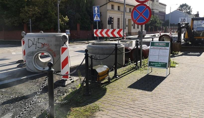Remont ulicy Lwowskiej