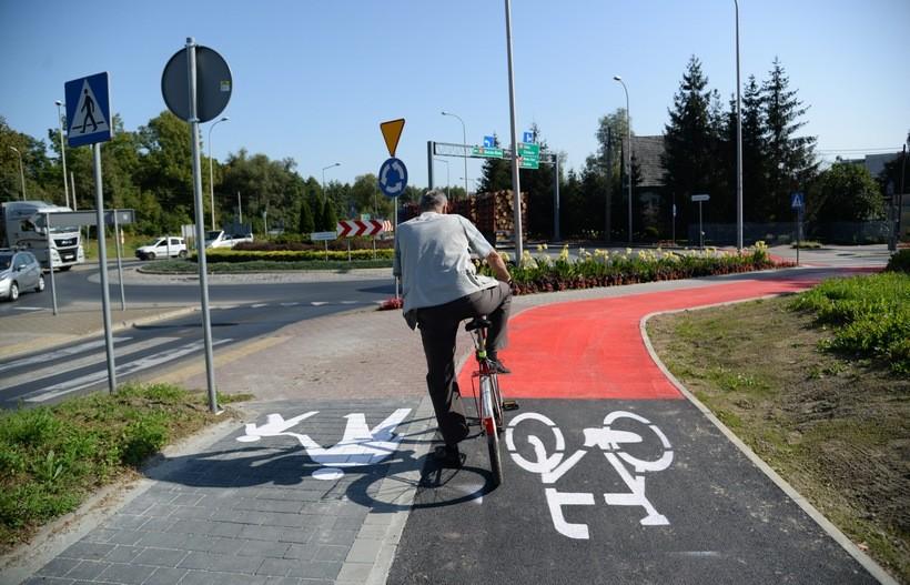 Wadowice mają pierwszą prawdziwą ścieżkę rowerową. Trasa liczy sobie 700 metrów