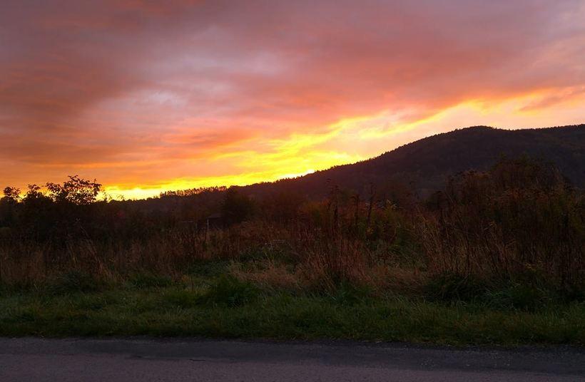 Wschód słońca, 9.10.2020