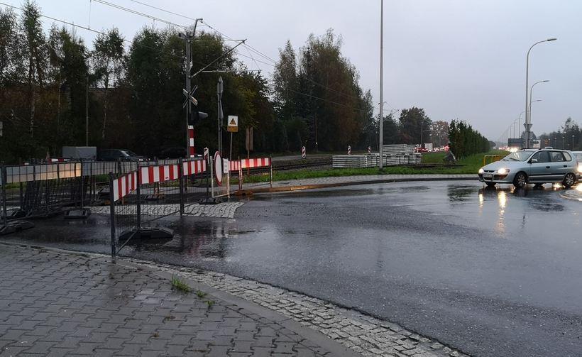Przejazd przy ul. Łazówka zamknięty
