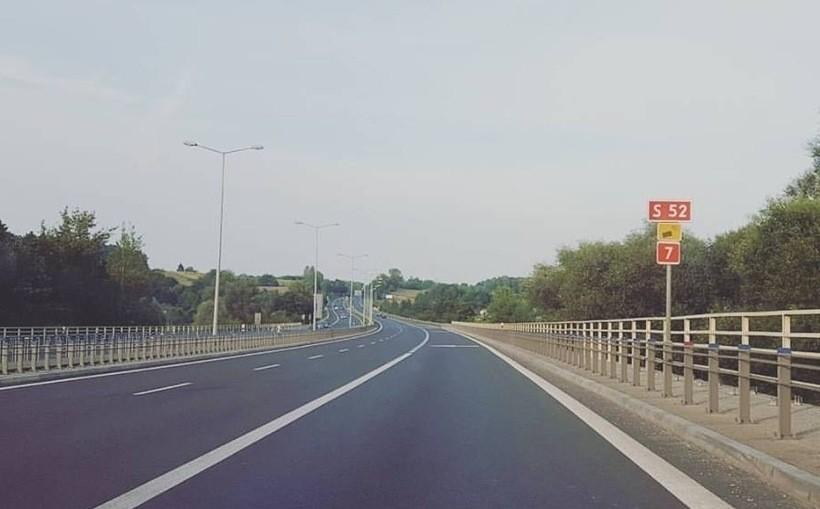 S52 w Krakowie, północna część BDI