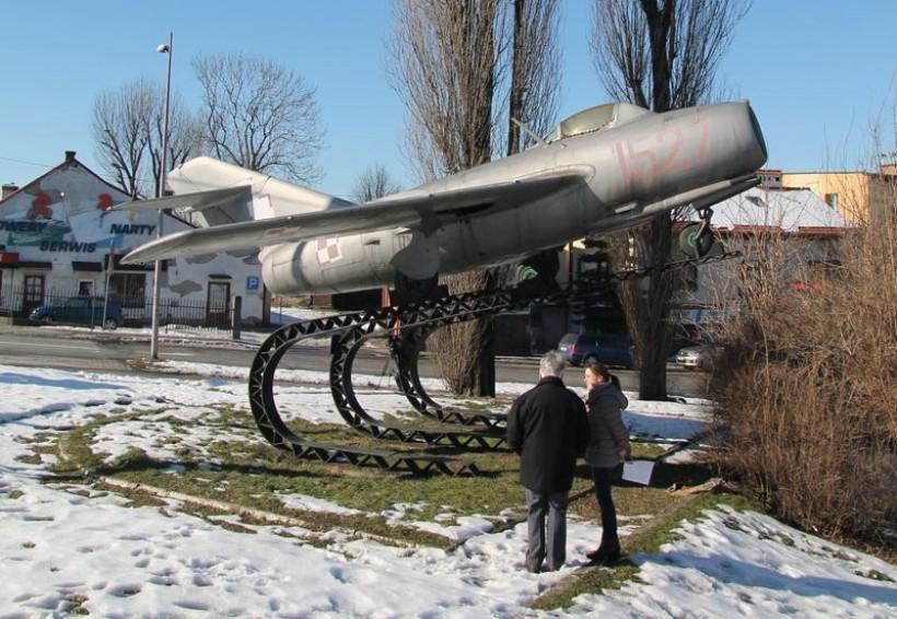 Samolot Lim-2 w Andrychowie