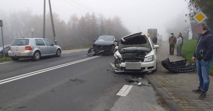 Wypadek w Barwałdzie Średnim
