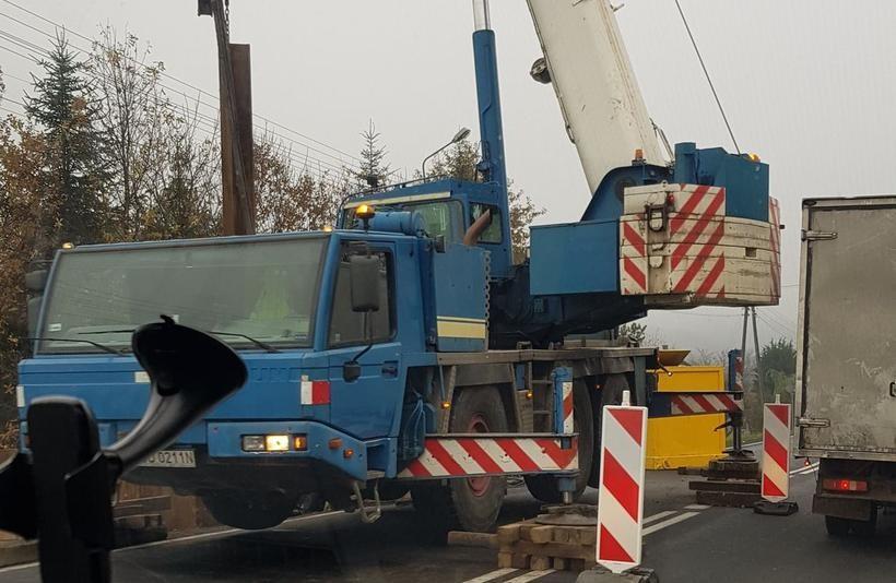 Stabilizacja osuwiska w Barwałdzie Średnim