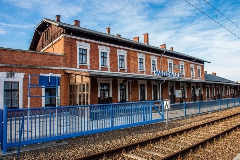 Dworzec PKP w Wadowicach