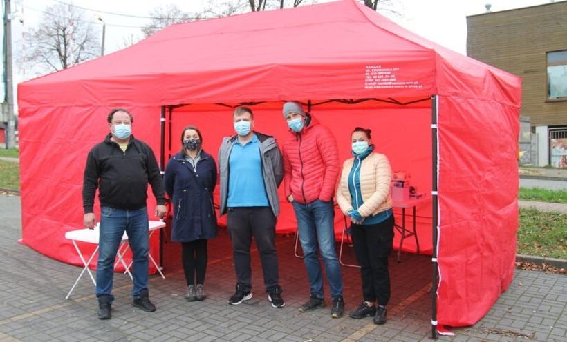 W Andrychowie uruchomili mobilny punkt testów na koronawirusa