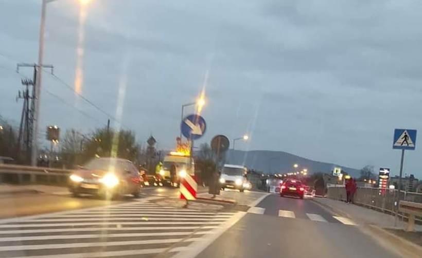 W czwartek (12.11) sarna wpadła pod koła auta