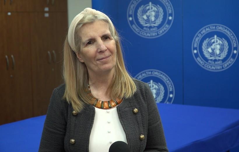 dr Paloma Cuchi, WHO