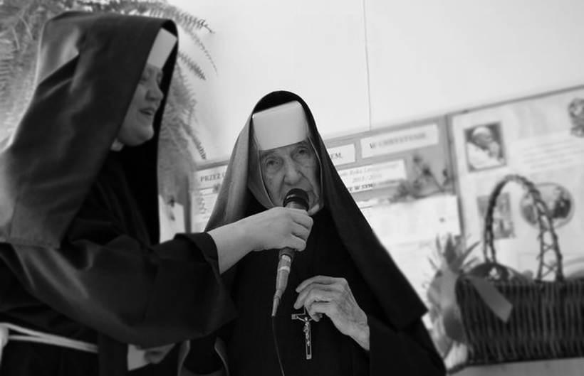 Nie żyje najstarsza mieszkanka gminy Wadowice. Siostra Adamina miała 106 lat